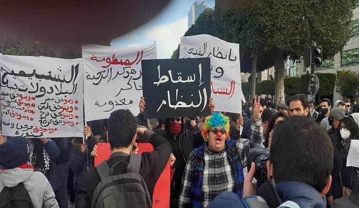 de manifestants
