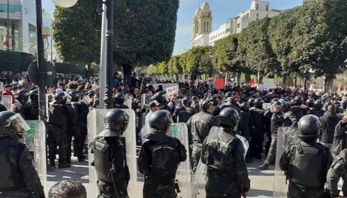 la chute du régime