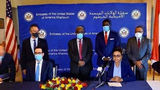 """السودان ينضم رسمياً لـ""""اتفاقيات أبراهام"""""""