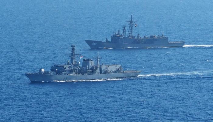 البحرية المصرية والإسبانية
