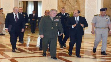 صورة مباحثات مصرية أمريكية لتعزيز العلاقات الدفاعية