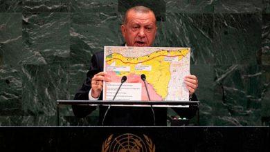 صورة تركيا تنشر خارطة جديدة لأطماعها في الشرق الأوسط والعالم