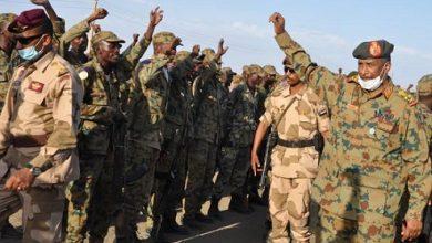 صورة الجيش السوداني يتصدى لهجوم من القوات الإثيوبية