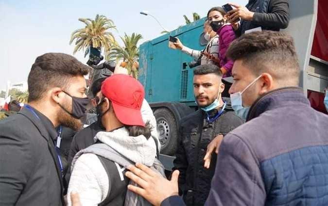 اعتداءات على الصحافيين