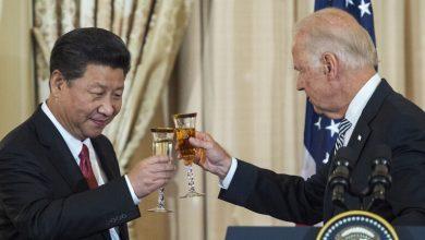 Photo de Premier appel entre Joe Biden et Xi Jinping