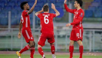 Photo de Le Bayern Munich a battu la Lazio 4-1