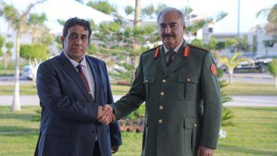Photo de Menfi souligne la nécessité d'expulser les mercenaires de Libye