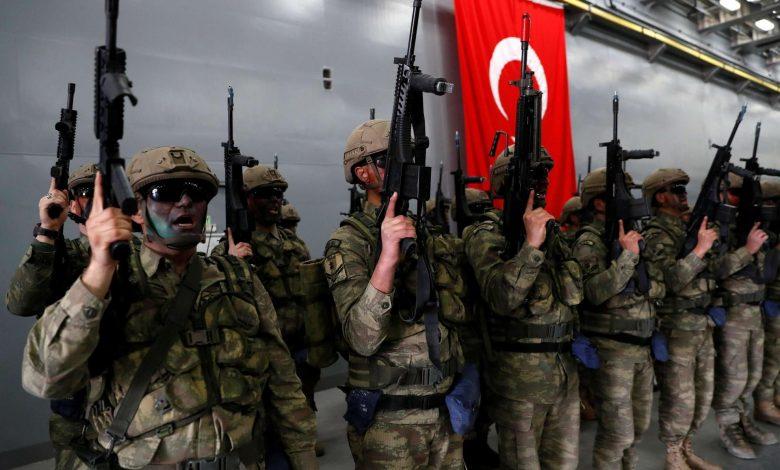 القوات التركية في ليبيا