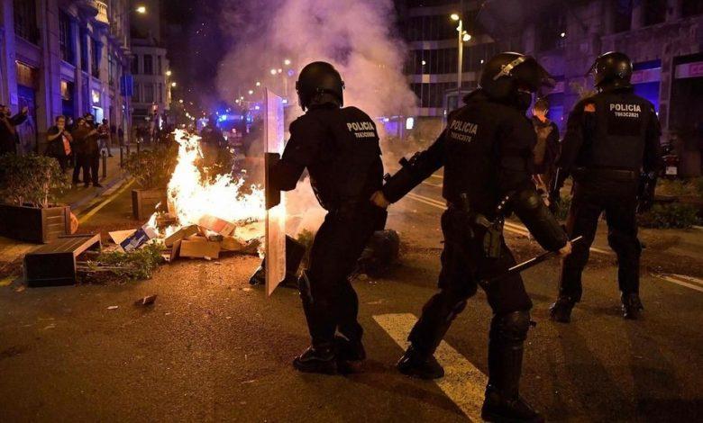 احتجاجات بريطانيا