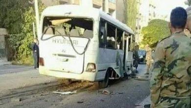 هجوم إرهابي على حافلة للجيش السوري في درعا