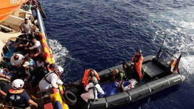 غرق مركب مهاجرين