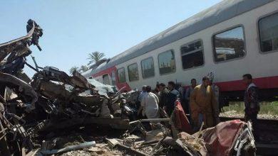 Égypte La collision de deux trains