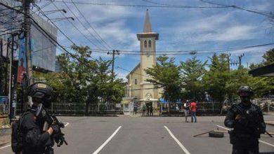 Indonésie la cathédrale de Makassar