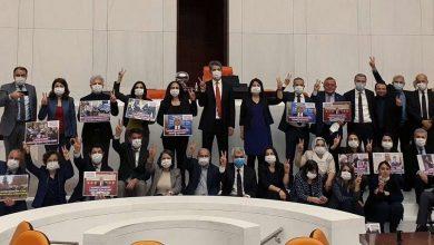 Sit-in au parlement turc