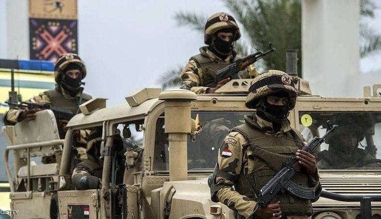 مصرع ثلاثة إرهابيين في شمال سيناء