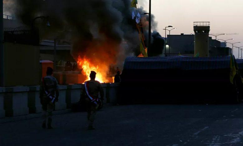 ثلاثة صواريخ كاتيوشا تضرب قاعدة عسكرية أمريكية قرب مطار بغداد