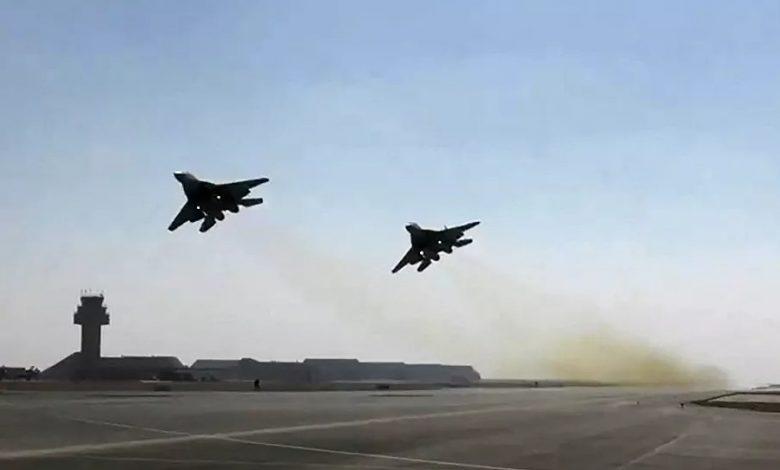 المقاتلات المصرية والسودانية