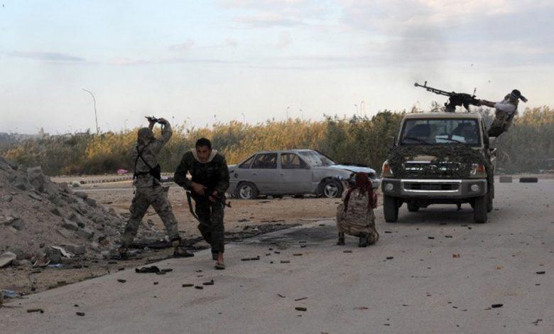 Affrontements armés capitale libyenne