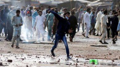 أعمال شغب باكستان
