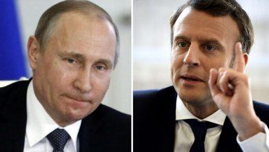 Macron la Russie