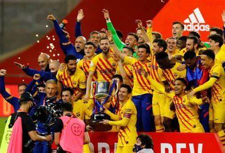 Le Barça Coupe du Roi