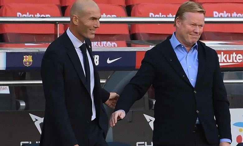 Le Clasico Zidane Koeman