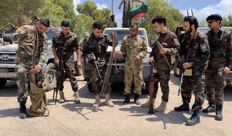 Le Quartette Libye mercenaires
