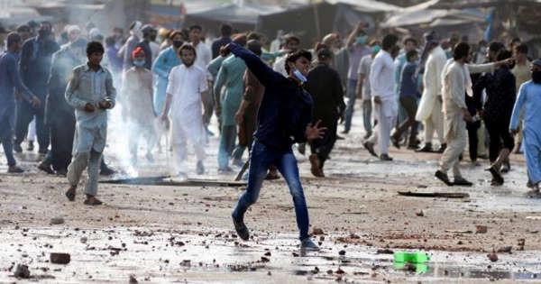 Pakistan Manifestations anti-France