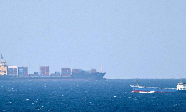Un navire civil iranien