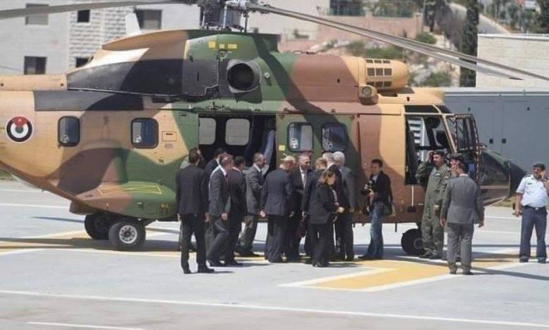 مروحية أردنية تنقل رئيس السلطة الفلسطينية لاجراء فحوصات طبية