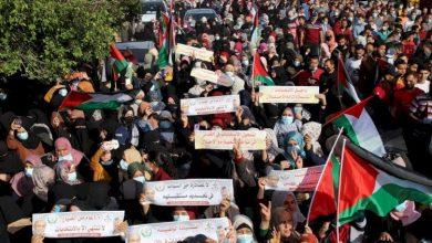 احتجاجات فلسطينية
