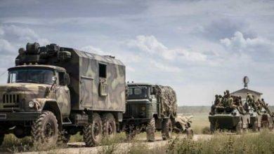 frontière l'Ukraine la Russie