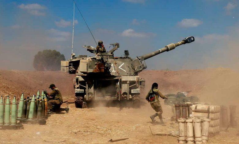 إسرائيل تحشد قواتها العسكرية على حدود غزة