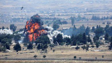 هجوم إسرائيلي بالصواريخ على مواقع سورية