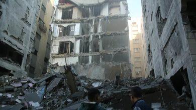 غارات تدميرية على قطاع غزة