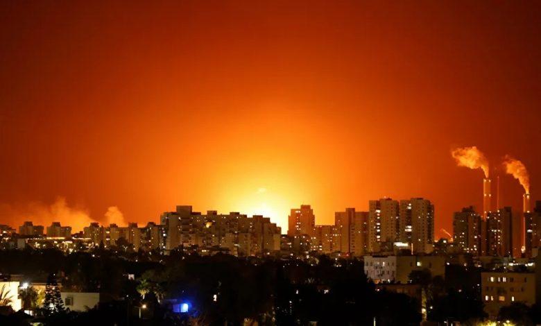 إسرائيل تقصف غزة