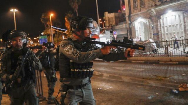 مواجهات جديدة في حي الشيخ جراح