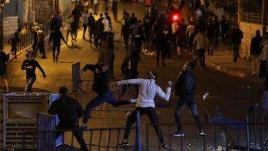 Affrontements Palestiniens