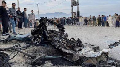Afghanistan L'explosion d'un autobus