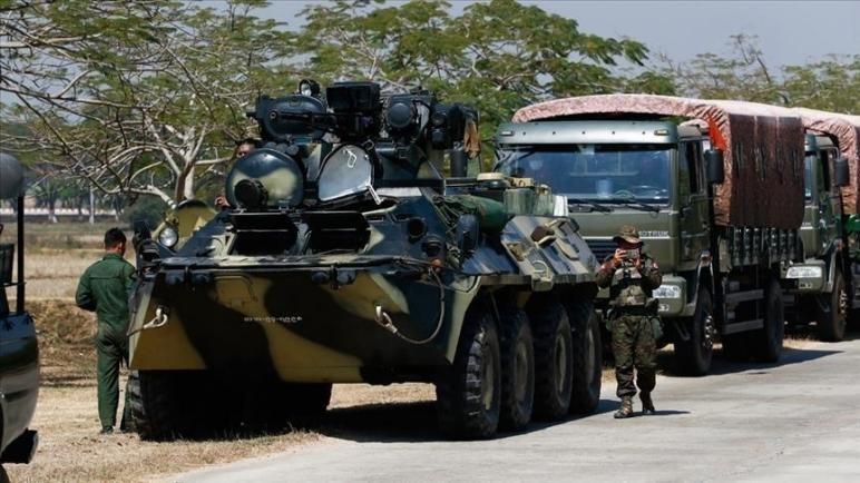 Birmanie opposants armés