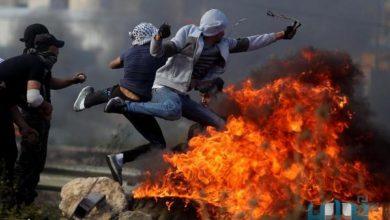 مواجهات ساخنة بين الفلسطينيين وجيش الاحتلال في الضفة الغربية