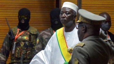 Démission du président malien