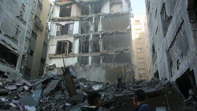 Israël raids destructeurs