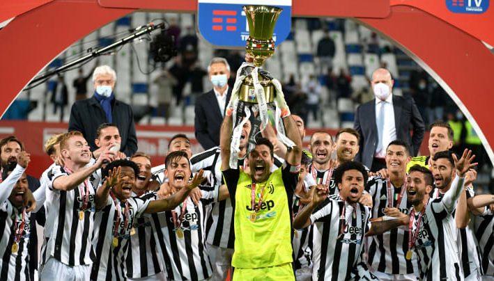 Juventus 14e Coupe d'Italie