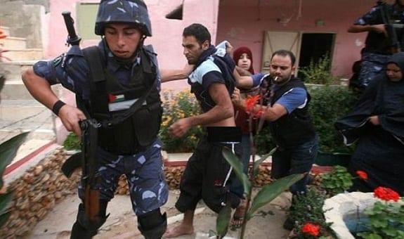 L'Autorité palestinienne militants