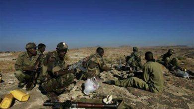 L'Éthiopie soldats érythréens