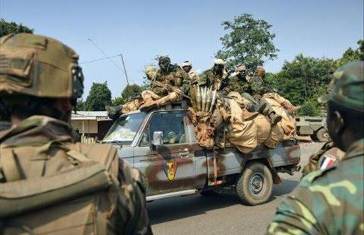 Le Tchad l'armée centrafricaine
