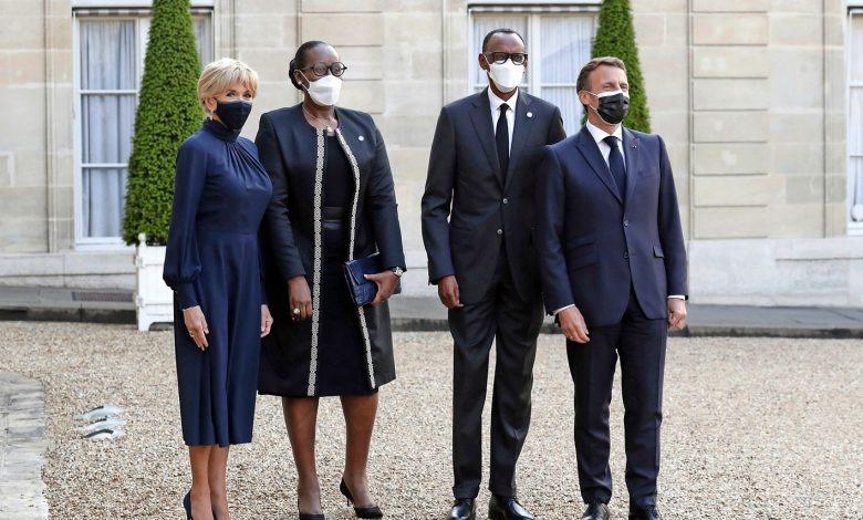 Macron Rwanda