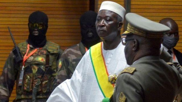 Mali président