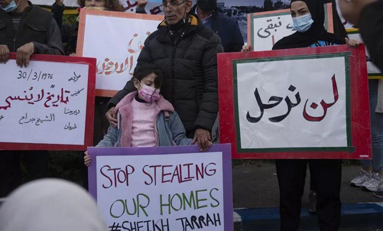 expulsion forcée de Palestiniens